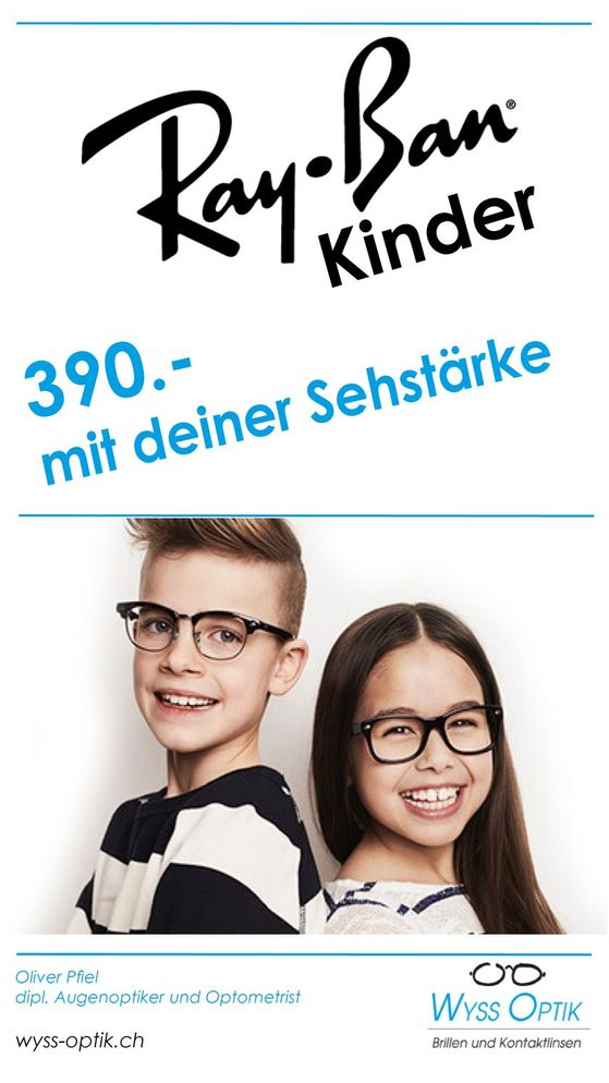 Kinderbrille - Wyss Optik AG in Zürich